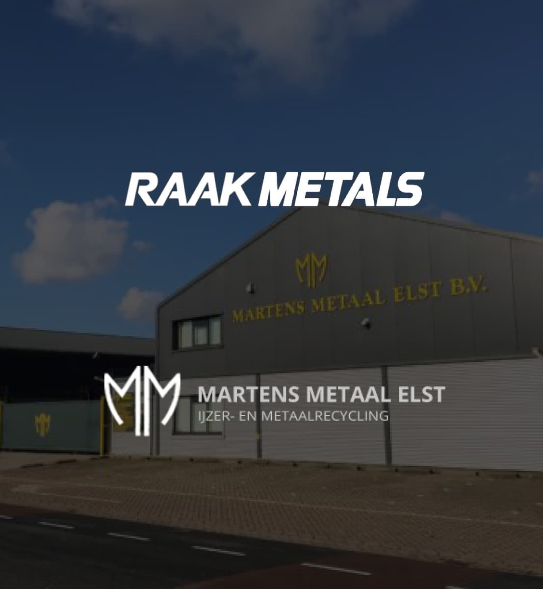 DEX international M&A advised Raak Metals on the acquisition of Martens Metaal