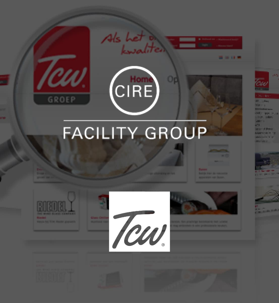 DEX international M&A advised Cire Facility Group on the acquisition of TCW Groep.