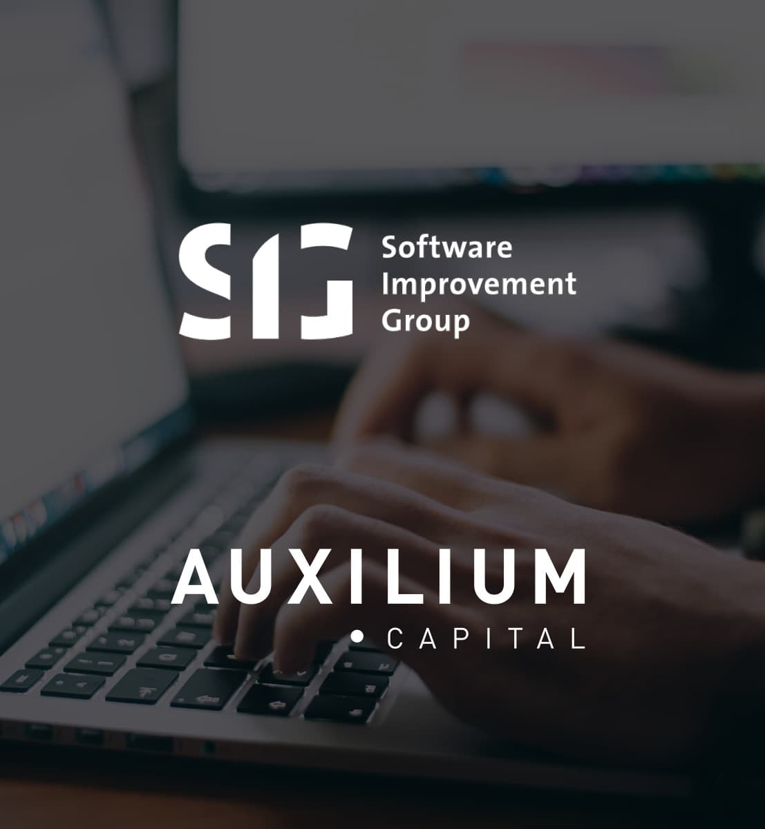 DEX international M&A advised Software Improvement Group on the sale to Auxilium Capital