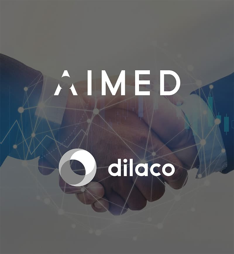 DEX international M&A advised AIMED on the sale to Dilaco