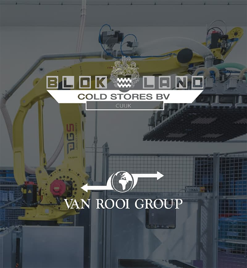 DEX international M&A advised Blokland Cold Stores on the sale to Van Rooi Group