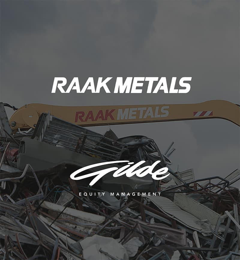 DEX international M&A advised Raak Metals on the sale to Gilde Equity Management